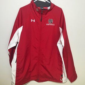 Under Armour NC College football Ful Zip Jacket